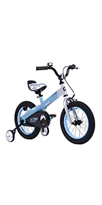 Royalbaby, Button, Kids Bike, Bicycle, training wheels, kickstand