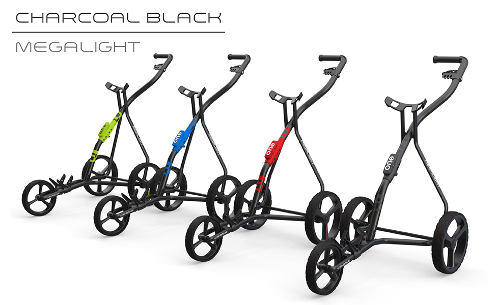 wishbone golf push cart pull cart golf trolley - folding 3 wheel pushcart gift ideas