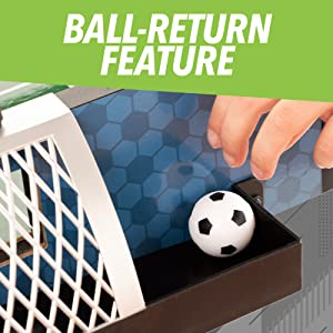 Ball return feature