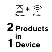 cable modem plus wi-fi router