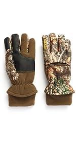 men's aggressor gloves hot shot hunting realtree edge camo