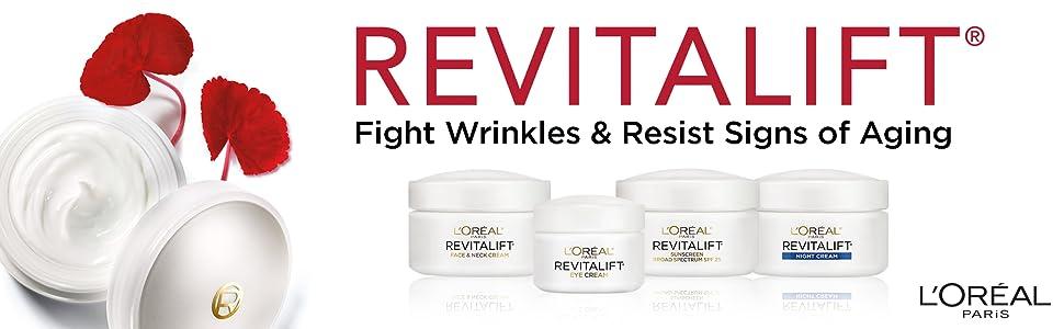 Anti-Aging Skincare, Revitalift Skincare, Face Moisturizer, Night Cream, Day Cream, Best Eye Cream