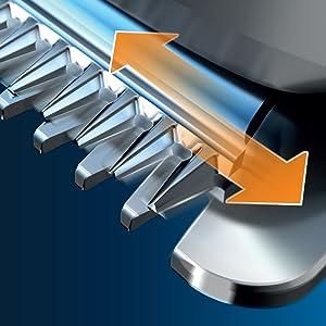Self-sharpening metal blades