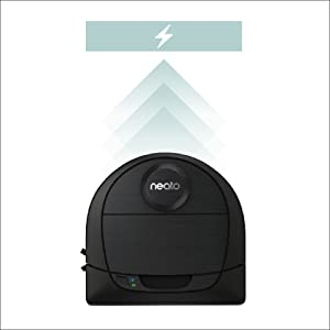 quick charge robotic vacuum, neato d6, neato fast charge battery