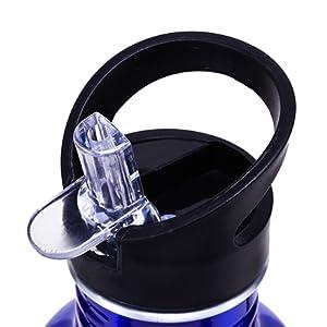 Cressi Water Bottle H20 Aluminum - Botella Deportiva 500 ML