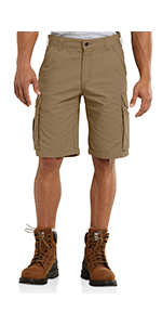 mens shorts, cargo, force