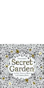 secret;garden;johanna;basford;coloring;book