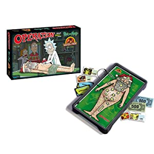 Operation: Rick and Morty board game