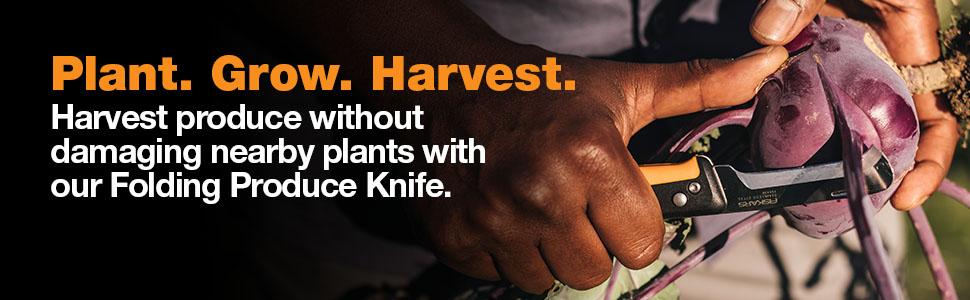 Fiskars Folding Harvesting Garden Knife