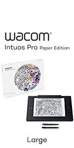 Intuos Pro L, Paper