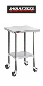 Worktable w/ Casters