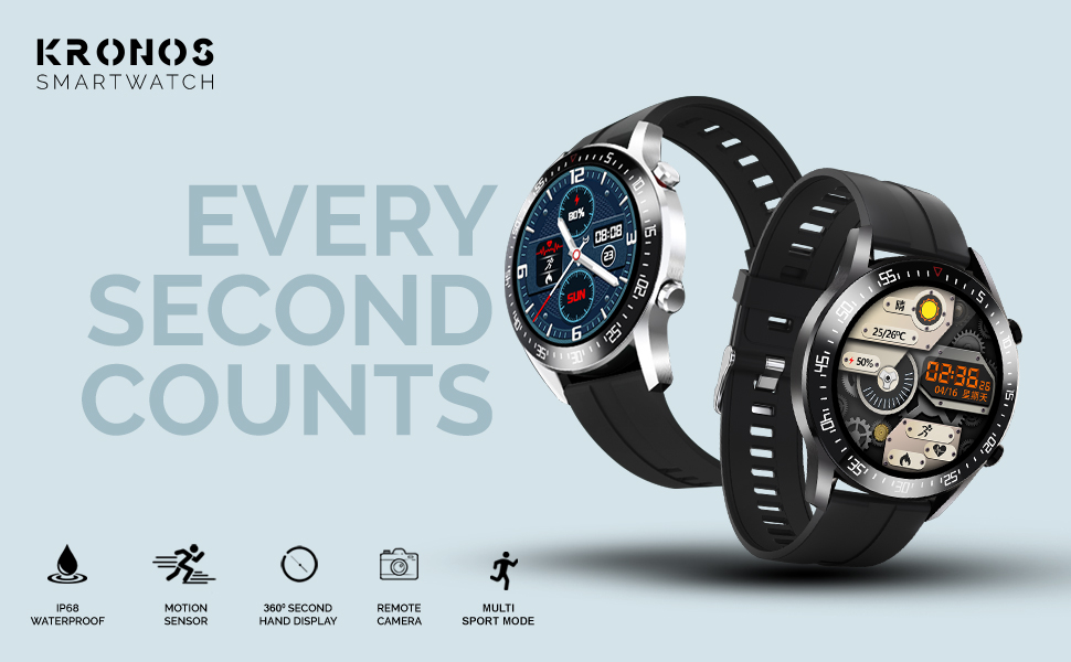 Kronos -Every Second Counts