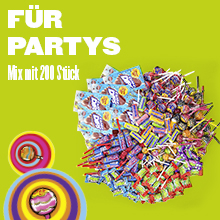 Perfekt för fester, fester, födelsedagar.