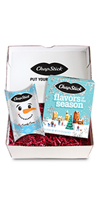 ChapStick Holiday Pack Storybook and Snowman Pillow