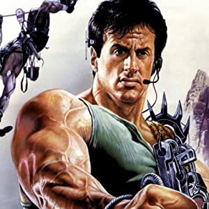 Sly Stallone in Cliffhanger