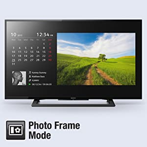 Photo frame Mode to view your Memories on Screen