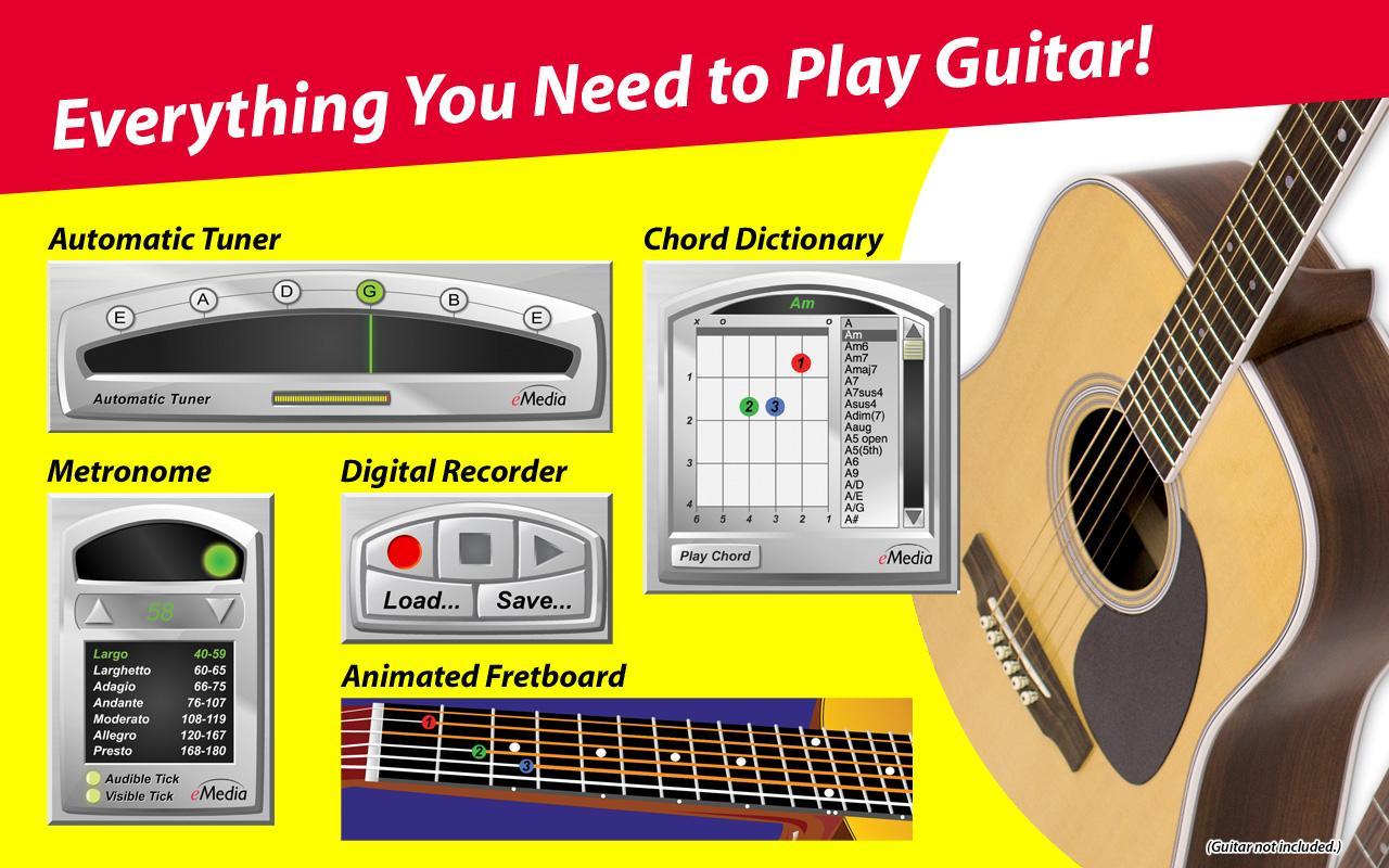 emedia guitar for dummies emedia software. Black Bedroom Furniture Sets. Home Design Ideas