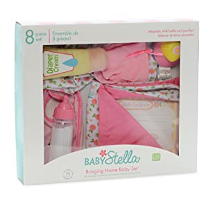 Amazon.com: Manhattan Toy bebé Stella Bringing Home bebé ...