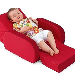 sofá para bebés