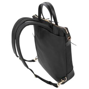 tote bag, urban tote bag, leather tote, conversion pack, backpack tote
