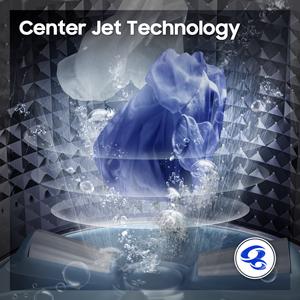 Center Jet technology of washing machine.