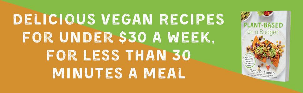cheap, quick vegan