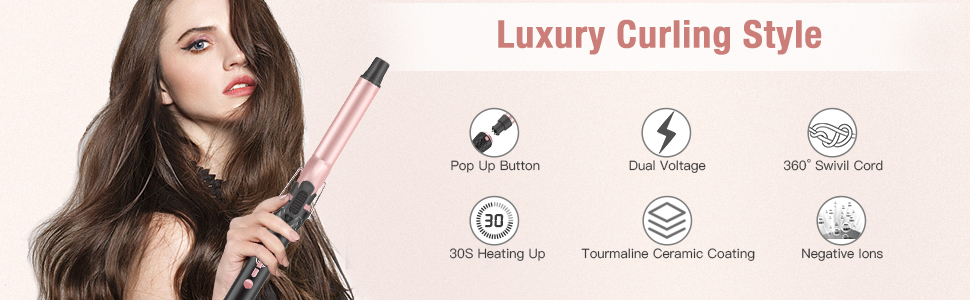 curling iron for hair
