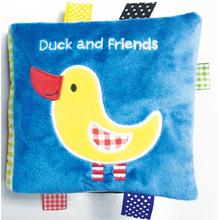 Duck and Friends, duck cloth book, cloth book, friends cloth book