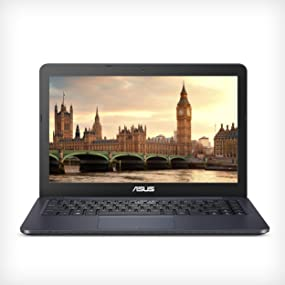 "ASUS L402WA-EH21 14"" HD Laptop; AMD E2-6110, Radeon R2, 4GB DDR3 RAM, 32GB, Windows 10 S office 365"