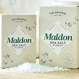 Maldon sea salt flakes crystals all natural