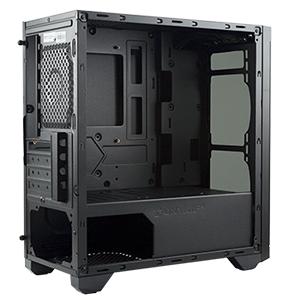 caja ordenador gaming matx compacta pequeña cristal templado pc unykach blanca usb 3.0 barata