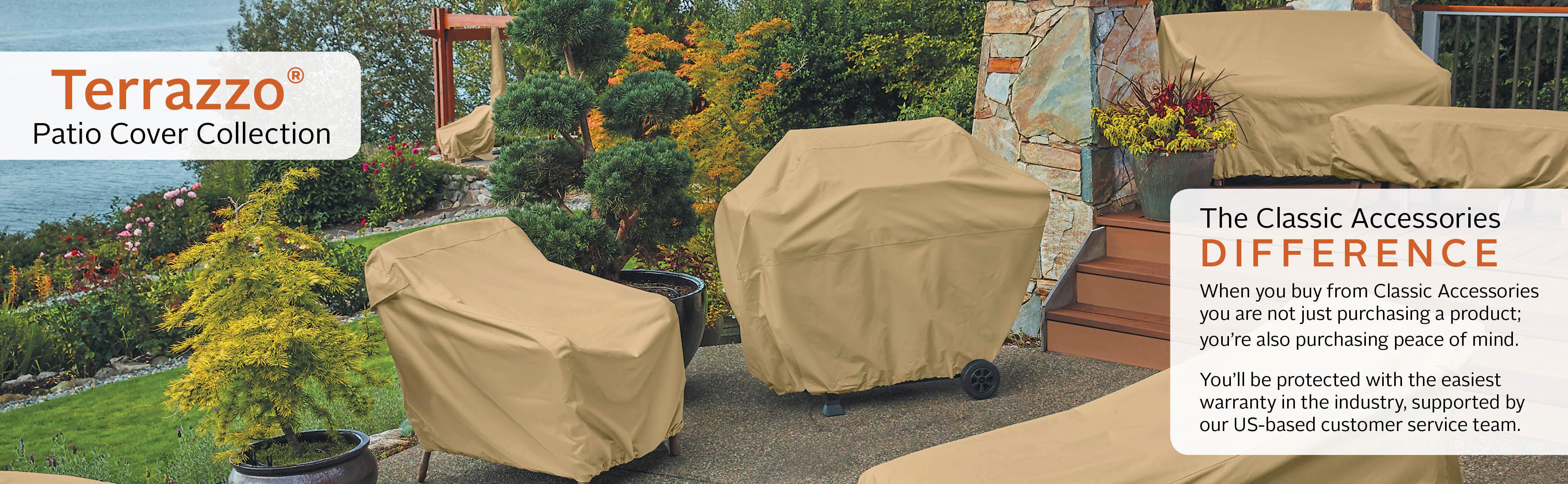 Amazon Classic Accessories Outdoor Patio Furniture Cover
