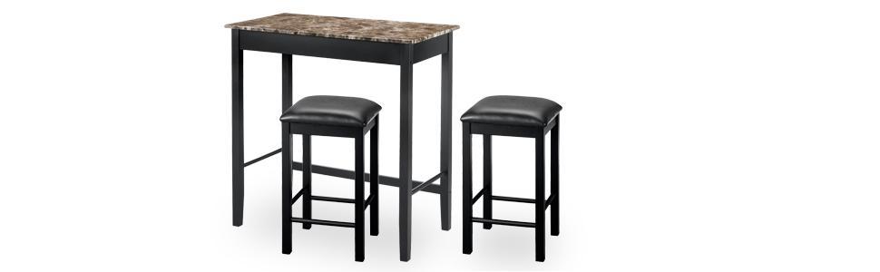 Dorel Living Bistro Table Set Devyn Pub