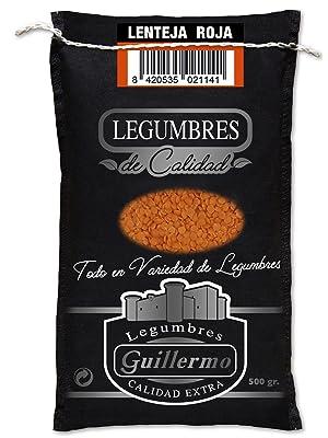 Guillermo Lenteja Roja Turca Sin Piel Gourmet Calidad Extra ...