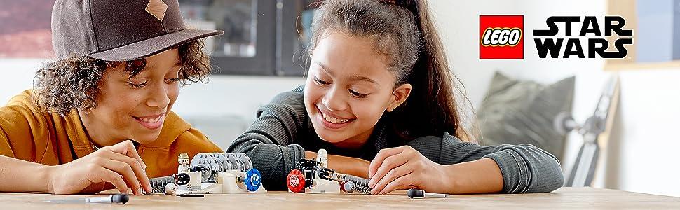 75239;LEGO Star Wars;Action Battle Hoth;Generator Attack; Action Battle Hoth Generator-Attacke