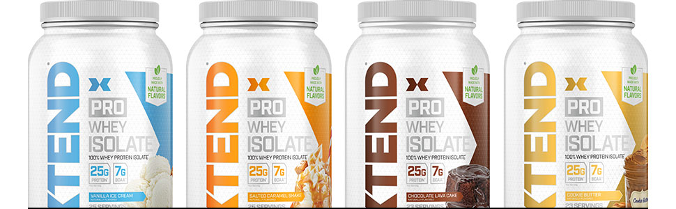 Xtend Pro 100% Whey Protein Isolate Powder