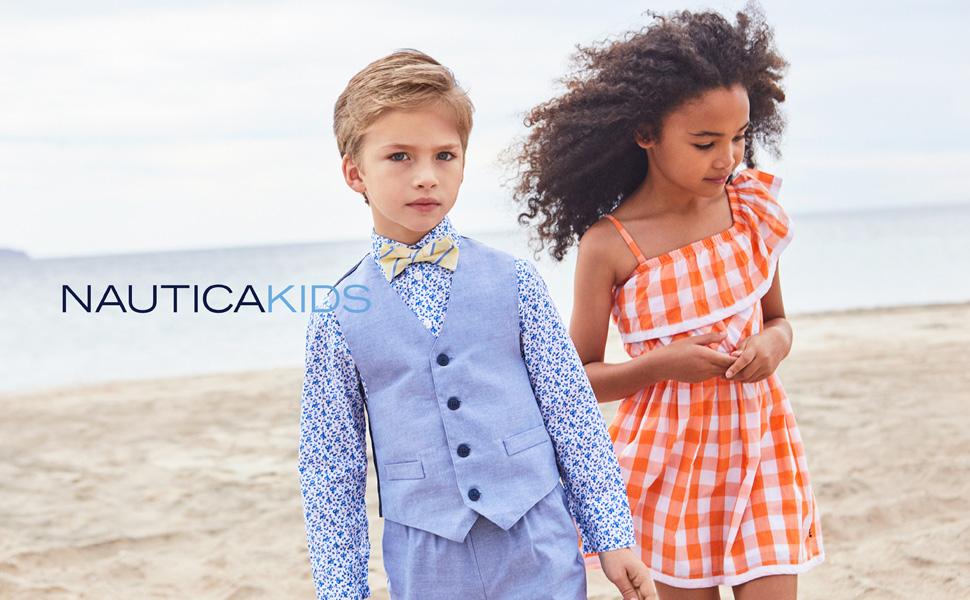 nautica boys; nautica spring wear; ropa formal de nino; kids clothing; vest set; kiddos clothing