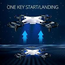 One key start/landing