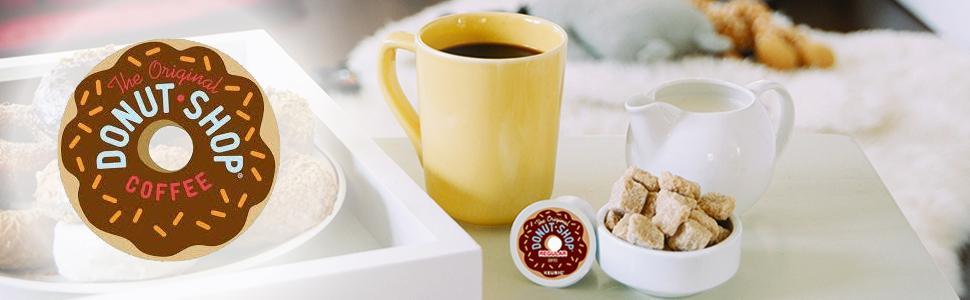The Original Donut Shop Coffee, Donut Shop, Donut Shop K-Cups, K-Cup Pods, k-cups, keurig k-cup pods