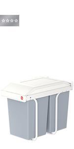 Hailo Multi Box duo L, Einbau Mülltrennungs System, 2 x 14
