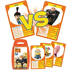 Despicable Me 3 Top Trumps Card Game Amazoncouk Toys Games