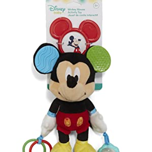 Amazon Com Disney Baby Dumbo On The Go Activity Toy