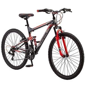 """mongoose status 2.2 mountain bike 26"""" wheel"""