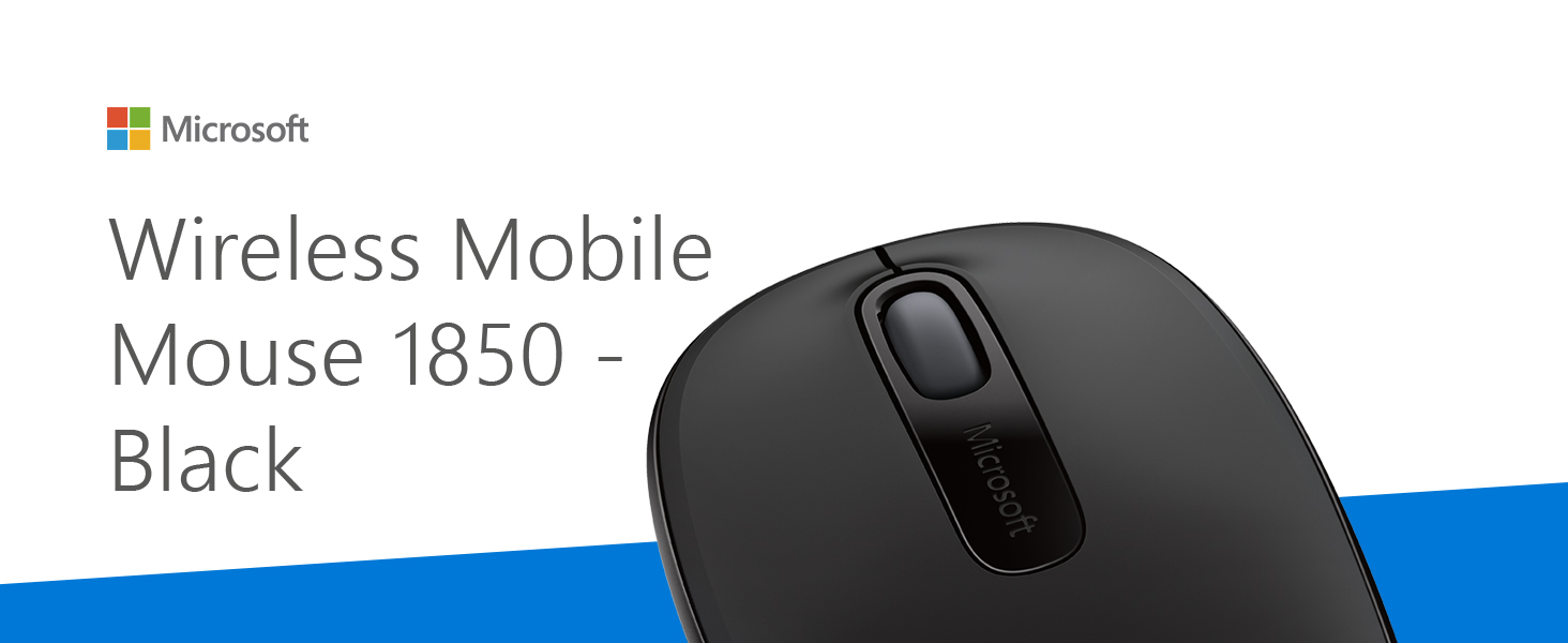 Microsoft Wireless Mobile Mouse 1850 Computer Zubehör