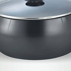 Prestige Hard Anodised Cookware Lifetime Induction Base Sauce Pan