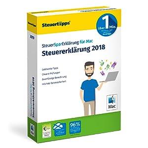 SteuerSparErklärung, Mac, Verpackung, 2019