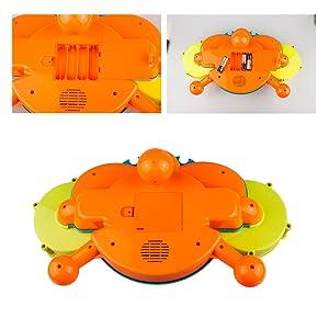 Amazon.com: Kids Drum Set con música y luces Electronic ...