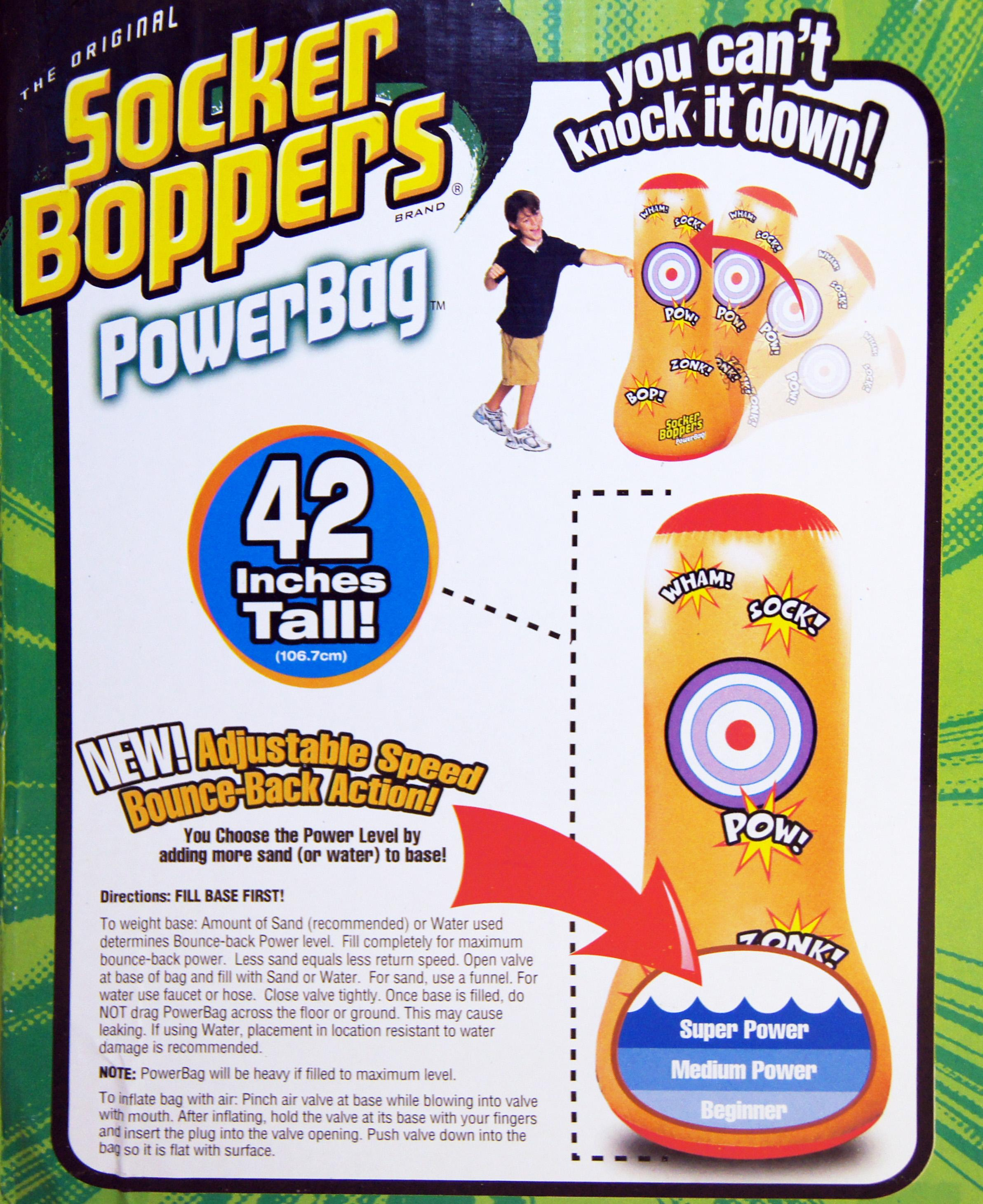 Socker Boppers Power Bag: Big Time Toys Socker Bopper Power Bag: Amazon.ca: Toys & Games