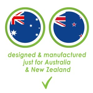 Designed & Manufactures just for Australia & New Zealand