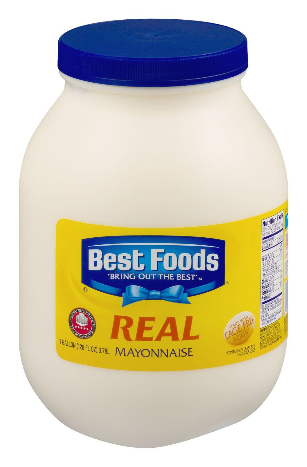 Is Best Foods Real Mayonnaise Gluten Free